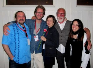 Karin Rudefelt and Doctor Blues with Erja Lyytinen at the gig in Huddinge May 2012.