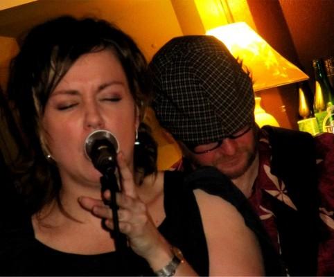 Karin Rudefelt & Doctor Blues, Releaseparty Växjö för Walk the walk 2011